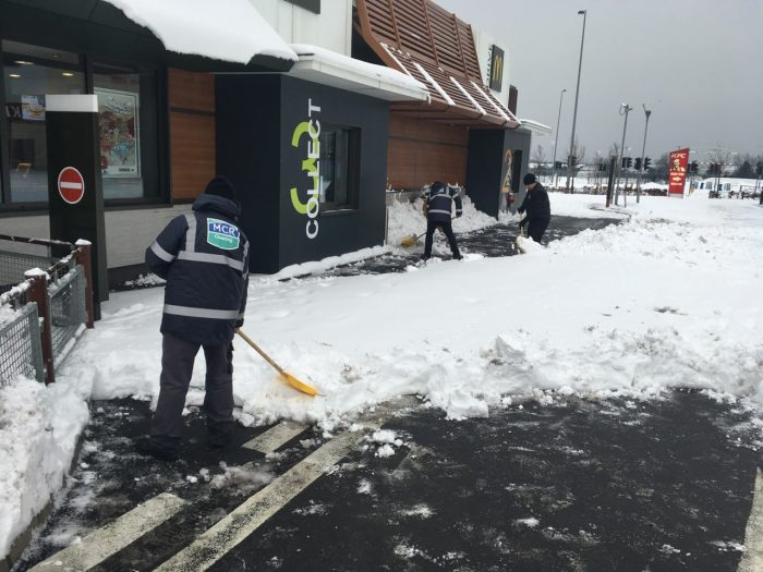Industrial Cleaning Snow Clearance